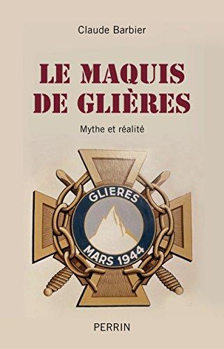 9782262040093: Le maquis de Glieres