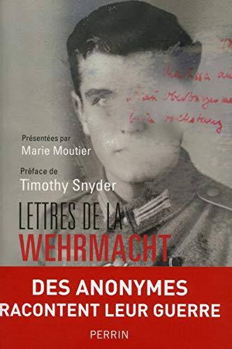 Lettres de la Wehrmacht: Fanny Chassain-Pichon, Marie Moutier