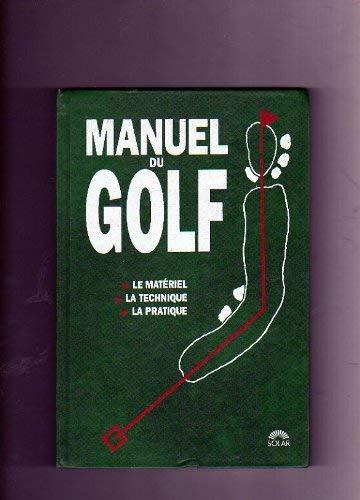 9782263015281: Manuel du golf