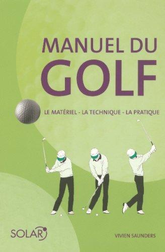 9782263028427: Manuel du golf