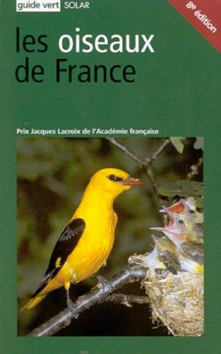 9782263034114: Guide vert des oiseaux de France