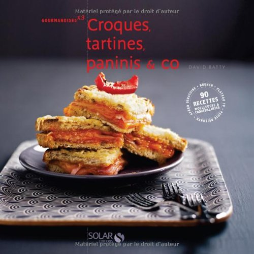 9782263052019: Croques, tartines, paninis & co