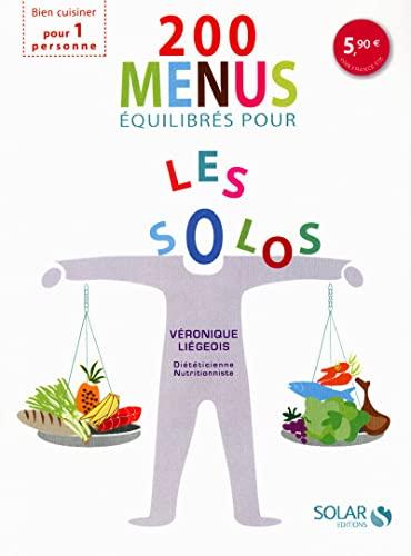 9782263053153: 200 menus �quilibr�s pour les solos