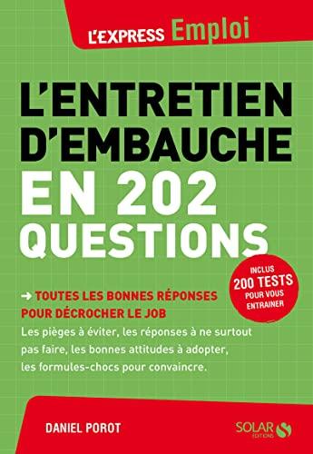 9782263066252: L'entretien d'embauche en 202 questions
