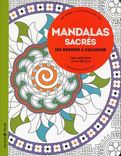 9782263069055: Mandalas sacrés - Aux sources du bien-être avec le coloriage NE
