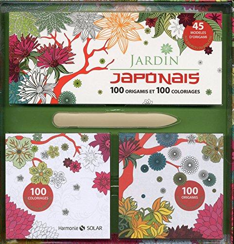 9782263069154: Coffret Jardin Japonais - Origami & coloriages