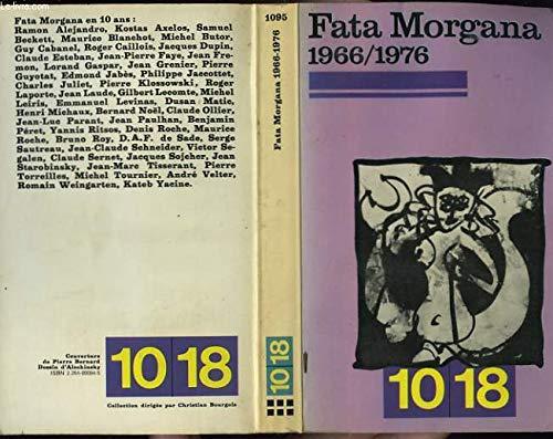 9782264000941: Fata morgana 1966/1976