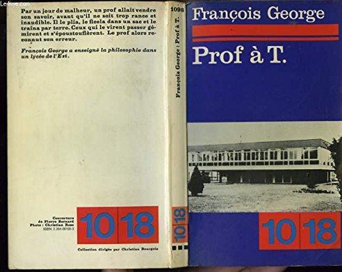 9782264001009: Prof à t.T