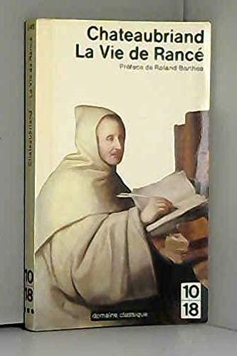 9782264003096: La Vie De Rance (French Edition)