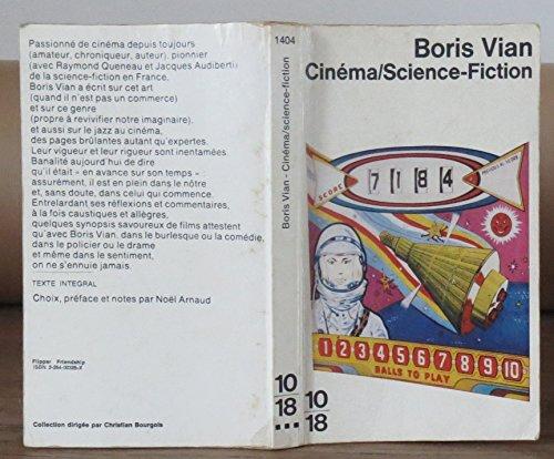 9782264003263: Cinéma, science-fiction