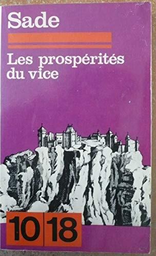 9782264008398: Histoire de Juliette ou Les prospérités du vice
