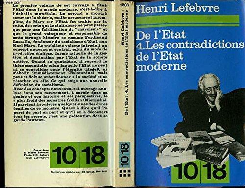 9782264008497: De l'Etat (4) : Les Contradictions de l'Etat moderne