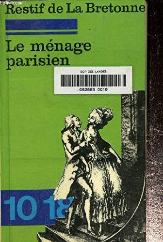 9782264009241: Le Menage Parisien