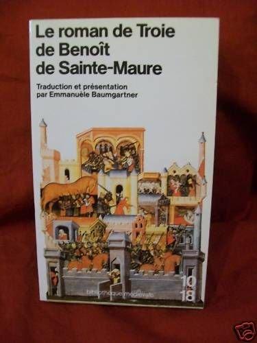 9782264010759: Roman de troie de Benot