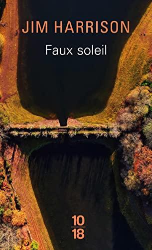 9782264011541: Faux soleil : L'histoire d'un chef d'équipe américain Robert Carvus Strang racontée à Jim Harrison