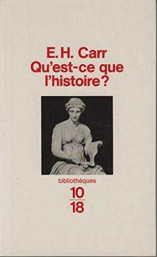 9782264024169: Qu'est-ce que l'Histoire ?