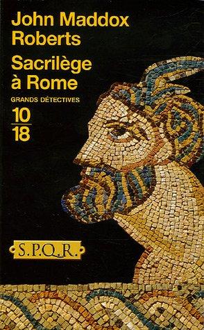 9782264039262: Sacril�ge � Rome