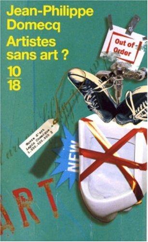 9782264042279: Artistes sans art ?