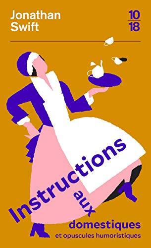 9782264073556: Instructions aux domestiques