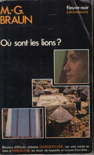 9782265007307: Où sont les lions ?