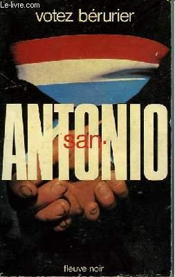 9782265014985: Votez Bérurier ! (San-Antonio)