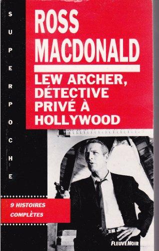 9782265049147: Lew Archer, d�tective priv� � Hollywood : Introd. de l'auteur