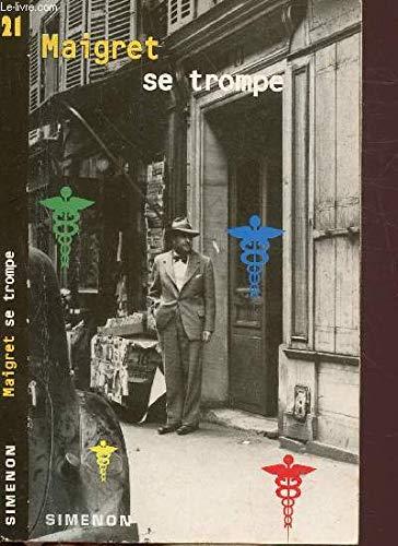 Maigret Se Trompe (Folio) (French Edition): Simenon, Georges