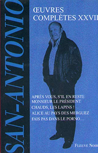 9782265067844: San Antonio : Oeuvres compl�tes, tome 28