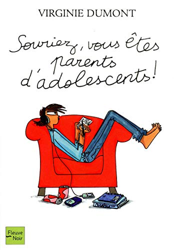 9782265094833: souriez vous etes parents d'adolescents