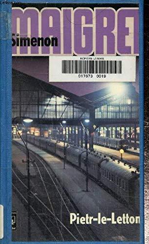 9782266002646: Pietr-le-Letton (Presses Pocket ; 1345) (French Edition)