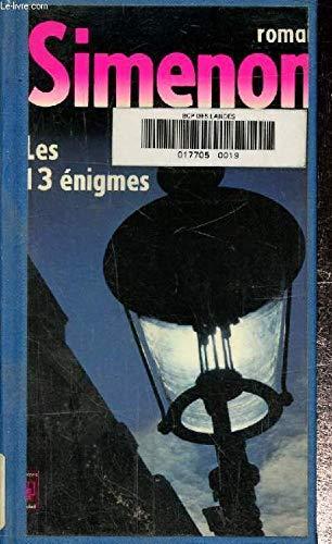 9782266005197: Les 13 Enigmes (Presses-Pocket) (French Edition)