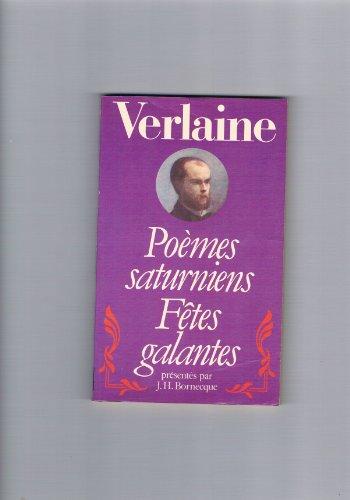9782266009157: Poemes Saturniens Fetes Galantes