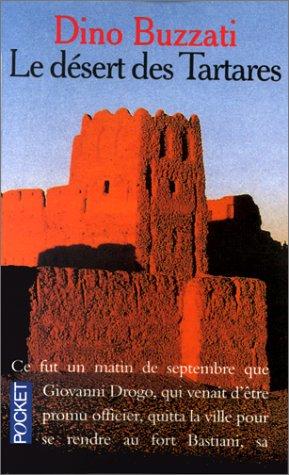 9782266009935: Le Désert des Tartares