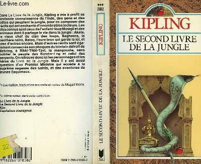 Le second livre de la jungle [Paperback]: Rudyard Kipling