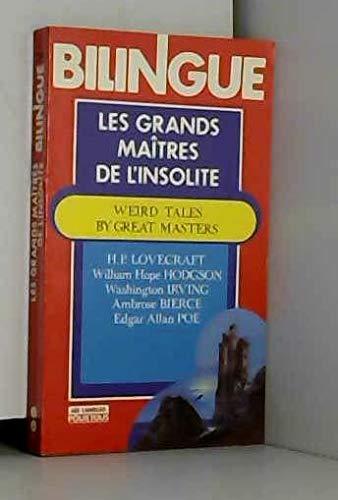 LES GRANDS MAITRES DE L'INSOLITE, Ã dition
