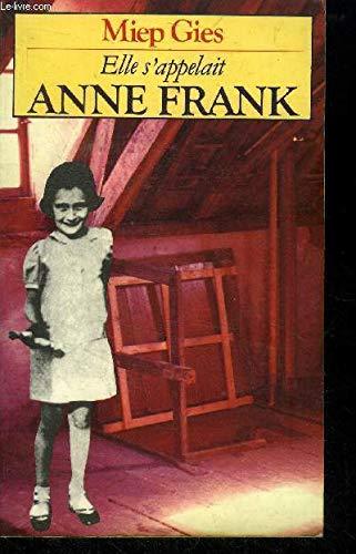 9782266020923: Elle s'appelait Anne Frank