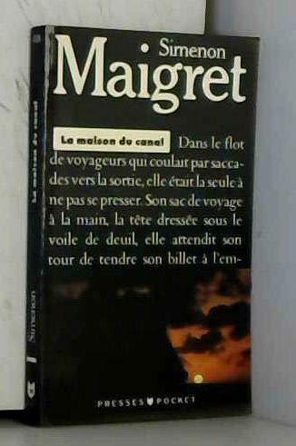 9782266026512: LA MAISON DU CANAL (Pocket noir)