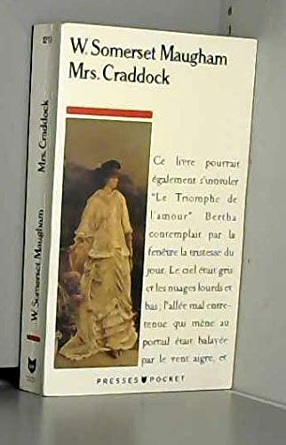9782266027359: Mrs. Craddock (en FRANCAIS)