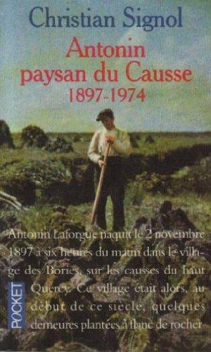 9782266029414: Antonin paysan du Causse (1897-1974)