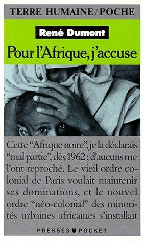 9782266031301: Pour l'Afrique, j'accuse