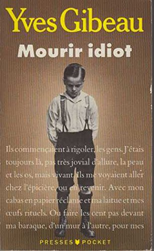 9782266034999: Mourir idiot (Best)