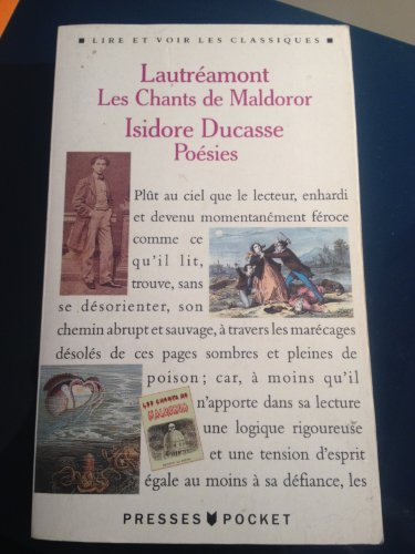 9782266036818: Les Chants De Maldoror (Fiction, Poetry & Drama)