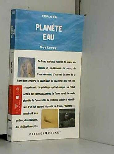 9782266039833: Planète eau