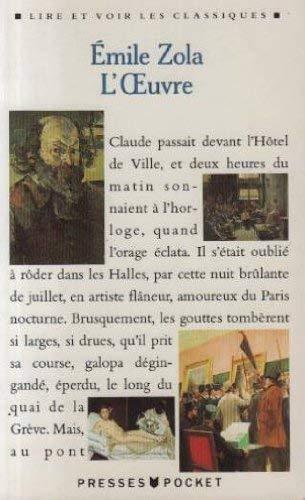 L'oeuvre [Aug 01, 1992] Zola, Emile