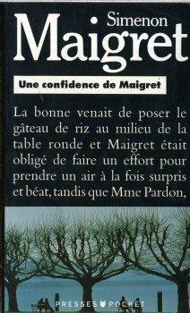 9782266049788: Une Confidence De Maigret (Simenon)