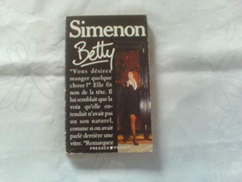 9782266049801: Betty (Simenon) (French Edition)