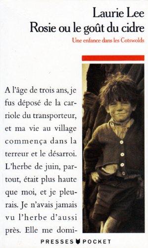9782266051200: Rosie Ou Le Gout De Cidre (French Edition)