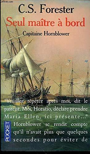 9782266052900: Capitaine Hornblower : Seul maître à bord