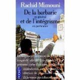 De la barbarie en général et de: Mimouni, Rachid