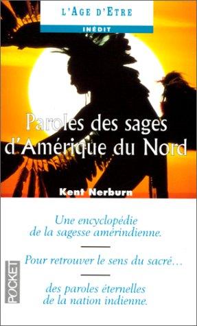 9782266063777: Paroles des sages d'Am�rique du nord